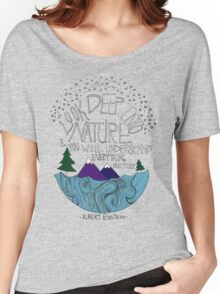 Einstein: Nature Women's Relaxed Fit T-Shirt