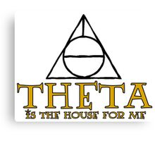 Harry Potter Theta Canvas Print