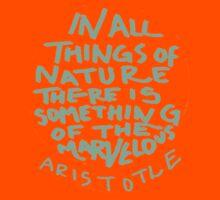Aristotle: Nature Kids Tee