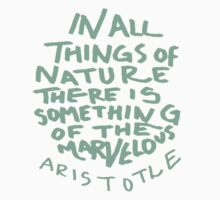 Aristotle: Nature Kids Tee