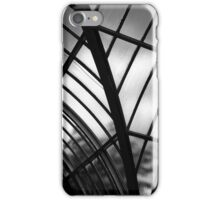 Conservatory Glass BW iPhone Case/Skin