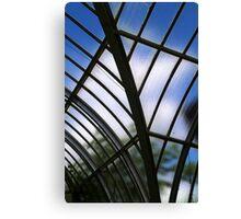 Conservatory Glass Canvas Print
