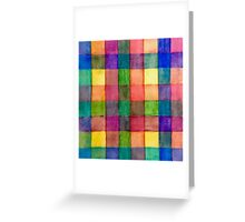 Colorful Stripes 1  Greeting Card