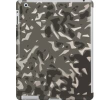 Black and White Camouflage? iPad Case/Skin