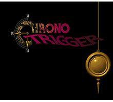 Chrono Trigger - Logo Photographic Print