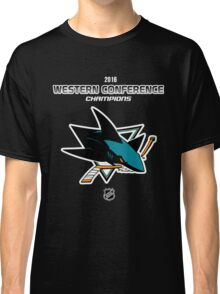 San Jose Sharks - 2015-2016 Western Conference Champions Classic T-Shirt