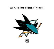 San Jose Sharks - 2015-2016 Western Conference Champions Photographic Print