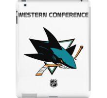 San Jose Sharks - 2015-2016 Western Conference Champions iPad Case/Skin