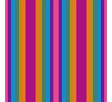 Rainbow Stripes 2 Photographic Print