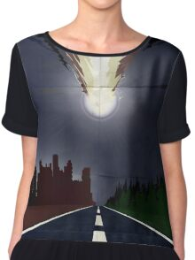 Once upon a comet Chiffon Top