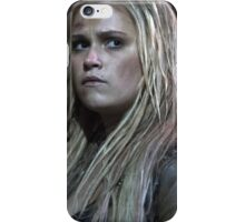 Clarke Griffin - Poster iPhone Case/Skin