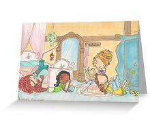 Princess Sleepover Greeting Card