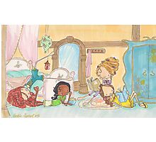 Princess Sleepover Photographic Print