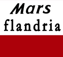 Retro Jerseys Collection - Mars Flandria Sticker