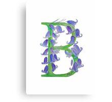 Bluebells B Canvas Print