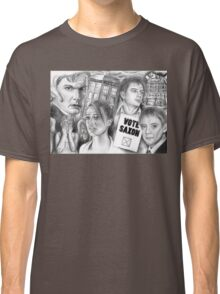 Doctor Who the sound of drums Classic T-Shirt