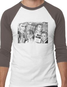 Doctor Who the sound of drums Men's Baseball ¾ T-Shirt