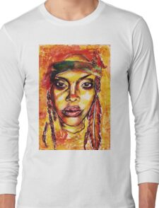 Erykah Badu Long Sleeve T-Shirt