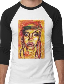 Erykah Badu Men's Baseball ¾ T-Shirt