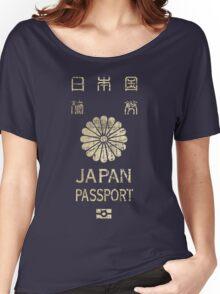 Japanese Passport Women's Relaxed Fit T-Shirt