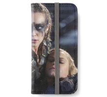 Clexa - Clarke Lexa - Poster iPhone Wallet/Case/Skin