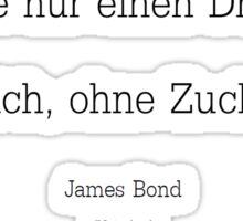 James Bond Coffe (Nicht) Sticker