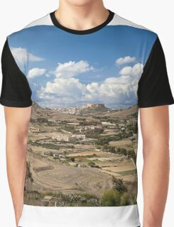 Gozo countryside in colour Graphic T-Shirt