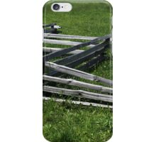 Fence River Raisin Battlefield iPhone Case/Skin