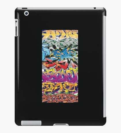 Graffiti Montage iPad Case/Skin