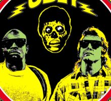 They Live Colour 2 Sticker