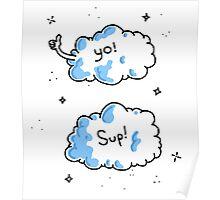 cloud friends Poster