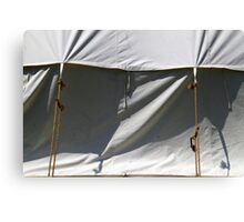 Tent and Shadows 5 Canvas Print