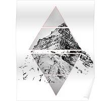 Air&Earth (AV) Mountain top Poster
