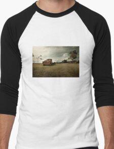 Abandoned 1950's Dodge Truck Men's Baseball ¾ T-Shirt