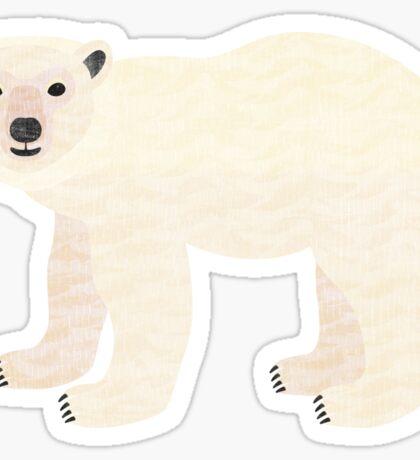 P is for Polar Bear Sticker
