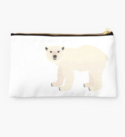 P is for Polar Bear Studio Pouch