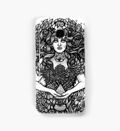 Divine Mother Gea Tree / BW Samsung Galaxy Case/Skin