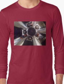 Ford Wheel Mustang Long Sleeve T-Shirt