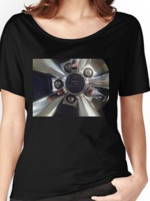 Ford Wheel Mustang Women's Relaxed Fit T-Shirt