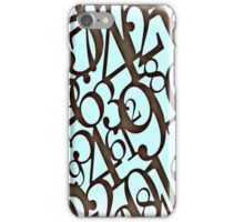 Number Game iPhone Case/Skin