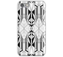 White Deco 2 iPhone Case/Skin