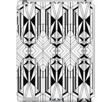 White Deco 2 iPad Case/Skin