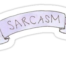 SARCASM - Tumblr Sticker