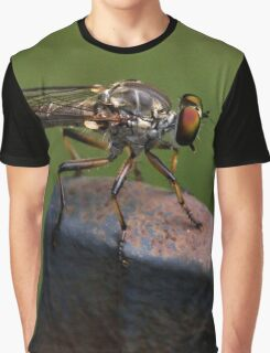Robber Fly Graphic T-Shirt