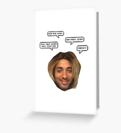 Joanne The Scammer Greeting Card
