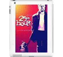 25th Hour iPad Case/Skin