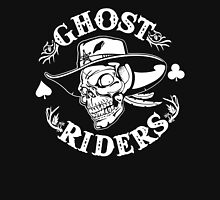 Ghost Riders White Unisex T-Shirt