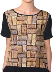 Cork Art Chiffon Top