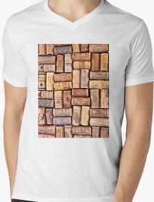 Cork Art Mens V-Neck T-Shirt
