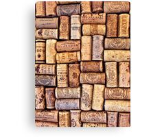 Cork Art Canvas Print